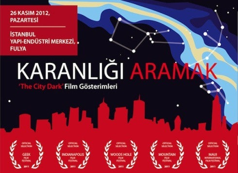 'The City Dark' film gösterimleri